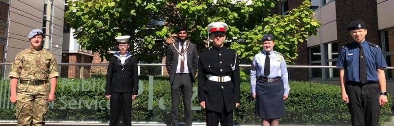 Mayor's cadets