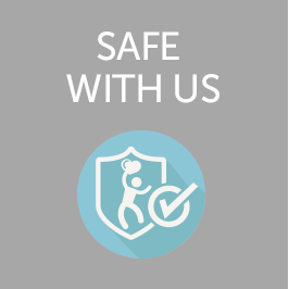 Safe with us